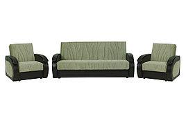 Комплект мягкой мебели Сиеста 2, Фисташковый, АСМ Элегант(Россия)