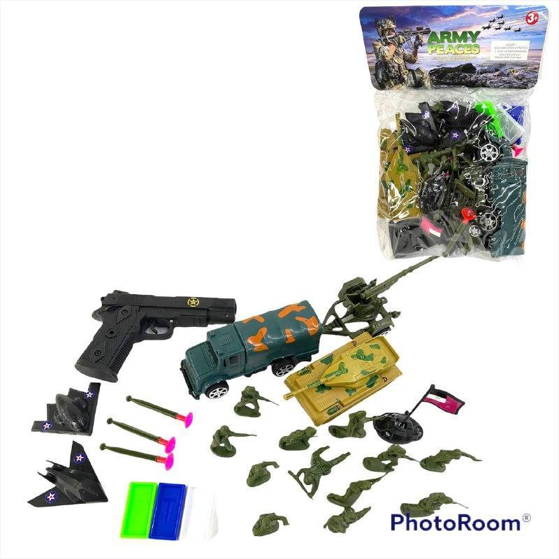 20D Военная техника Army peaces с аксессурами в пакете 30*19см