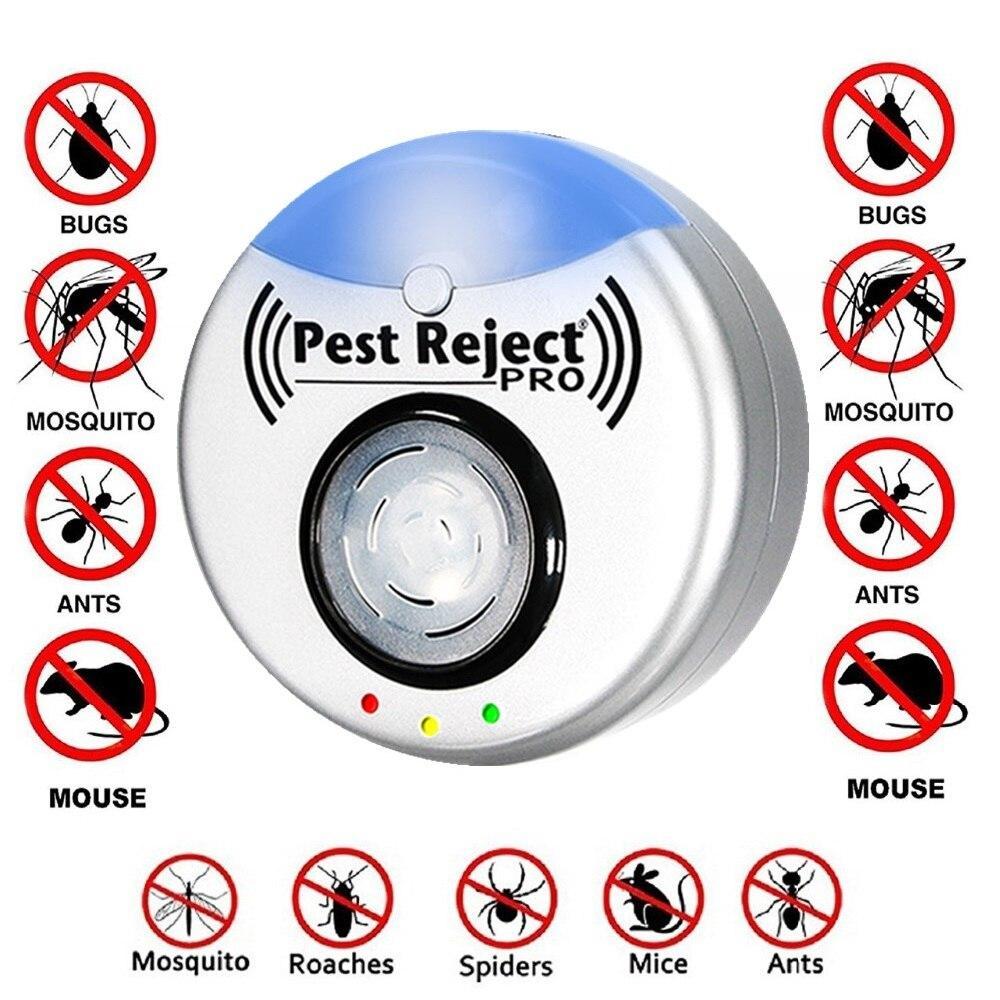 Ультразвуковой отпугиватель насекомых и грызунов Pest Reject Pro.