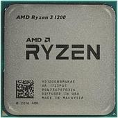 Процессор AMD Ryzen 3 1200 3,1ГГц Summit Ridge, 4/4, 65W, AM4