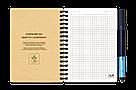 Многоразовая тетрадь-конструктор Добробук А6 24 листа, фото 3