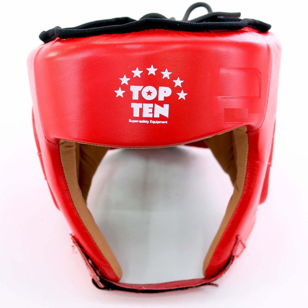 Шлем боксёрский кожа