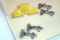 Мебельный шаблон для внутренних и накладных петель, фото 1