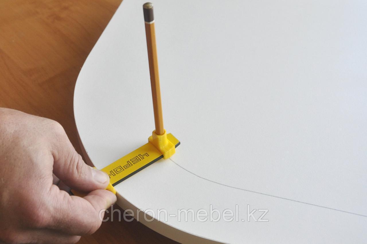Разметочное устройство для установки мебельных опор, колёсных опор