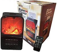 Мини-обогреватель Flame Heater с пультом (имитация огня)