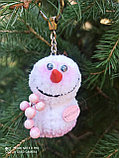 Интерьерная игрушка Снеговик-малыш (брелок), фото 2