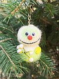 Интерьерная игрушка Снеговик-малыш (брелок), фото 3