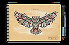 Многоразовый альбом для творчества (скетчбук) Добробук, 24 листа, фото 2