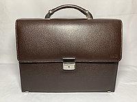 """Деловой портфель из кожи """"BOND NON"""". Высота 27 см, ширина 35 см, глубина 9 см., фото 1"""