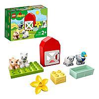 Конструктор LEGO DUPLO Уход за животными на ферме