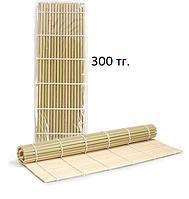 Макису - бамбуковый коврик для суши и роллов, 24x24см