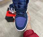Баскетбольные кроссовки Air Jordan 1 Retro High 'Court Purple', фото 3