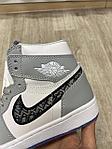 Баскетбольные кроссовки Air Jordan 1 x Dior, фото 3