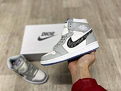 Баскетбольные кроссовки Air Jordan 1 x Dior