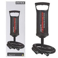 Насос ручной INTEX Double Quick Hand Pump для надувных бассейнов и матрасов
