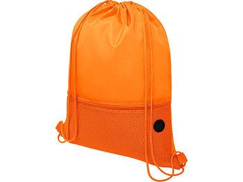 Сетчастый рюкзак со шнурком Oriole, оранжевый