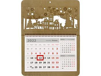 Новогодний календарь на 2022 год
