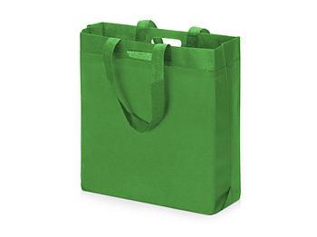 Сумка для покупок из спанбонда Scope, 380*455*160 с ручкой 550/30 мм, зеленое яблоко