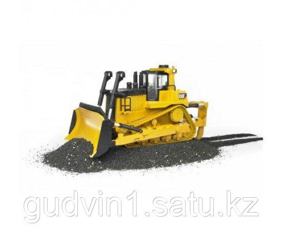 Бульдозер гусеничный CAT (пластиковые гусеницы) Bruder (Брудер)02-452