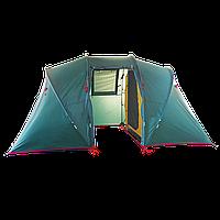 Палатка Tube 4 BTrace зел/бежевый T0508С