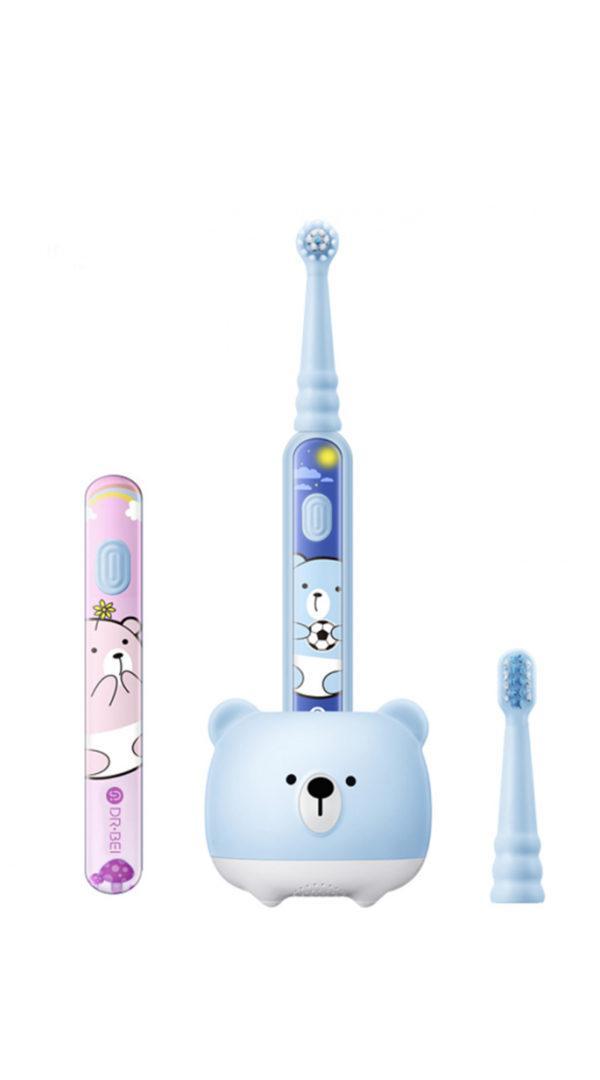 Детская электрическая зубная щетка Dr. Bay K5 Sonic Electric Toothbrush Blue