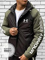 Куртка Under Armour чер хаки рук, фото 1