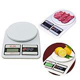 Кухонные электронные весы Electronic Kitchen Scale SF-400, фото 4