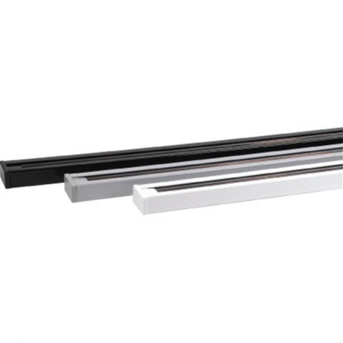 Шинопровод( рельс) для трекового светильника 1 м. черный/белый/серый