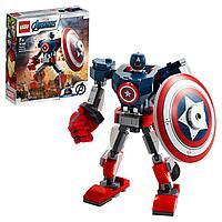 Конструктор LEGO Супер Герои «Капитан Америка Робот», фото 1