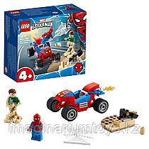 Конструктор LEGO Супер Герои Бой Человека-паука с Песочным человеком
