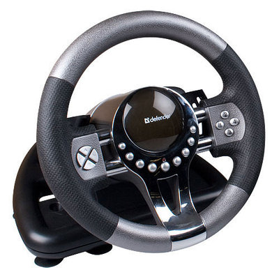 Игровой руль Defender Forsage GTR для PC