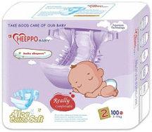 Подгузник Heeppo Baby для девочек 3-6 кг (100 шт)