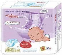 Подгузник Heeppo Baby для для девочек 5-11 кг (90 шт)