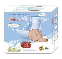 Подгузник Heeppo Baby для для мальчиков 5-11 кг (90 шт)
