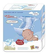 Подгузник Heeppo Baby для мальчиков 9-14 кг (80 шт)