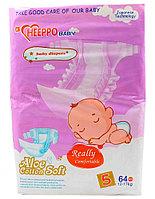 Подгузник Heeppo Baby для девочек 12-17 кг (64 шт)