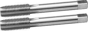 ЗУБР М12 x 1.75 мм, Р6М5, машинно-ручные, комплект метчиков 4-28007-12-1.75-H2