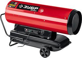 ЗУБР 65 кВт, прямой нагрев, дизельная тепловая пушка ДП-К8-65-Д Мастер