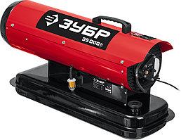 ЗУБР 35 кВт, прямой нагрев, дизельная тепловая пушка ДП-К8-35