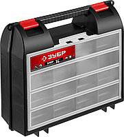 "ЗУБР 360 х 140 х 320 мм (14""), пластиковый, ящик для электроинструмента ""ЭЛОР-14"" 38035-14_z01"