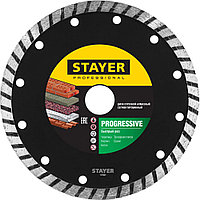 STAYER Ø 125Х22.2 мм, алмазный, сегментный, диск отрезной PROGRESSIVE 3662-125_z02 Professional