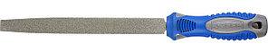 ЗУБР 200 мм, алмазный, напильник плоский 33390-200-120