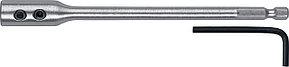 """ЗУБР 150 мм, HEX 1/4"""", удлинитель для перовых сверл 29507-150_z01"""