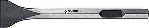 ЗУБР 80 х 400 мм, HEX 28, зубило лопаточное 29372-80-400 Профессионал