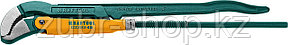 KRAFTOOL №4, изогнутые губки, ключ трубный PANZER-45 2735-30_z02