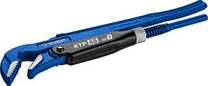 ЗУБР №0, изогнутые губки, ключ трубный КТР-45 27337-0_z02