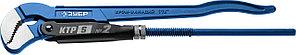 ЗУБР №2, изогнутые губки, ключ трубный КТР-S 27336-2_z02 Профессионал
