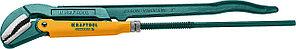 KRAFTOOL №4, изогнутые губки, ключ трубный PANZER-S 2733-30_z02