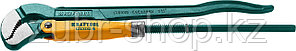 KRAFTOOL №2, изогнутые губки, ключ трубный PANZER-S 2733-15_z02