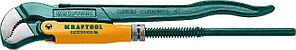 KRAFTOOL №1, изогнутые губки, ключ трубный PANZER-S 2733-10_z02